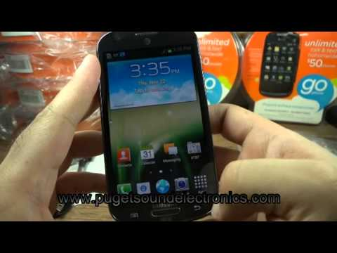 At&t Samsung Galaxy Express SGH-i437 unboxing