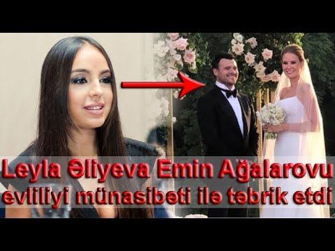 Leyla Əliyeva Emin Ağalarovu evliliyi münasibəti ilə təbrik etdi