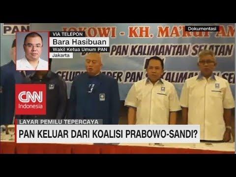 PAN Buka Peluang Keluar dari Koalisi Prabowo-Sandi