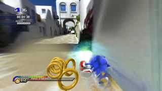 엑스박스 시리즈 X에서 소닉 언리시드 (Sonic Un…
