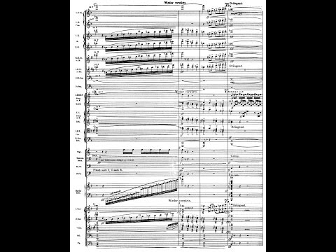 Mahler's 3rd Symphony (Audio + Sheet Music)