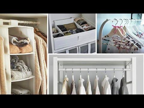 15 IKEA Clothes Storage Ideas