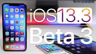 iOS 13.3 Beta 3 is Out! - What's New?