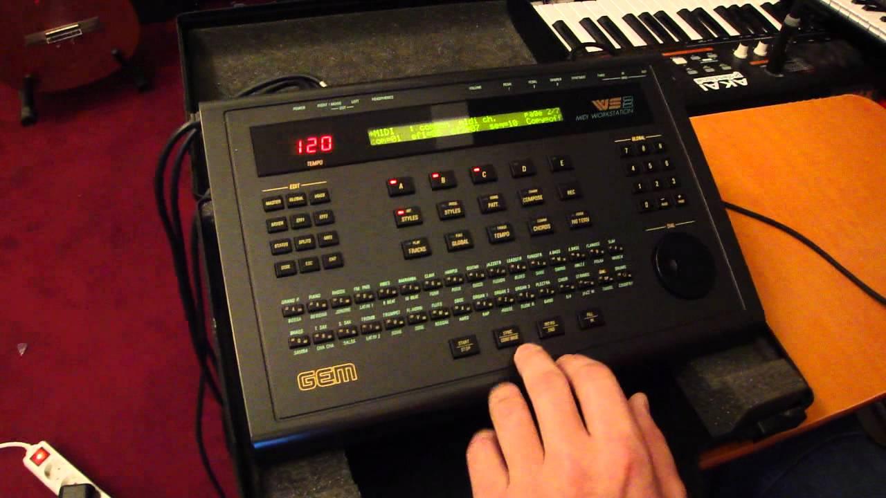 Gem Ws2 Keyboard Workstation Manual