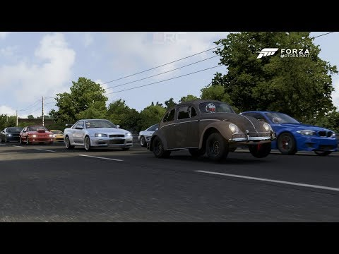 Forza 6 | True Street Cars 2/2 - 400+HP Dung Beetle vs The World + 950HP Supra At Sebring & More
