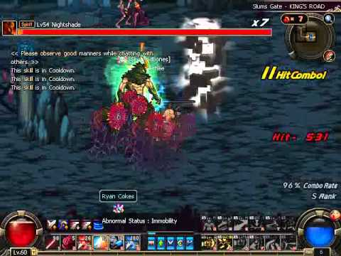 Slum's Gate King's Road Nightshade (Old) Hell Mode #2 [Blue]