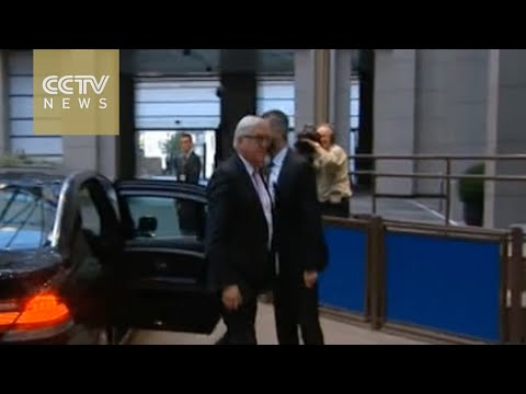 European Union foreign ministers to gather in Brussels