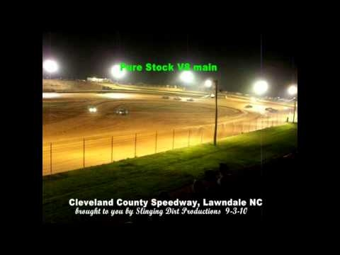 Pure Stock V8 main  Cleveland County Speedway
