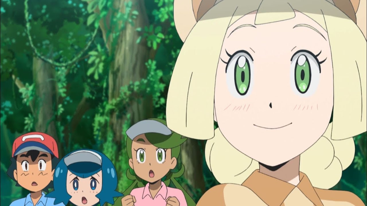 Lillie on the Green! | Pokémon the Series: Sun & Moon—Ultra Legends |  Official Clip