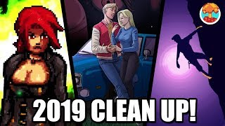 2019 Clean-Up: Demoniaca, Football Game, Driven Out & One Person Story - Defunct Games
