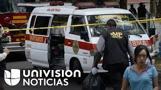 Trasladan hacia Texas a cuatro menores heridas tras el incendio en el Hogar Seguro de Guatemala