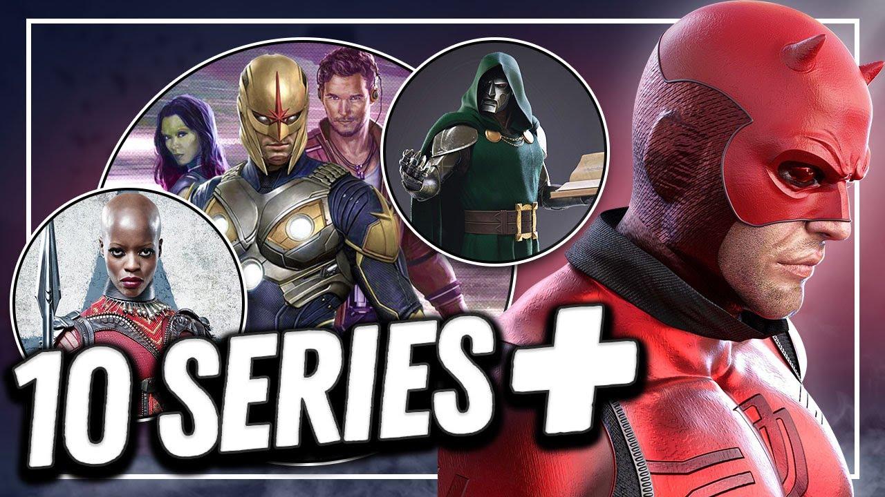 🔥Boom🔥 Marvel Studios prepara 10 series más para Disney + ¿Cuáles podrían ser?