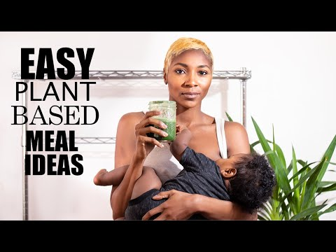 What I Ate Today: Vegan Breastfeeding