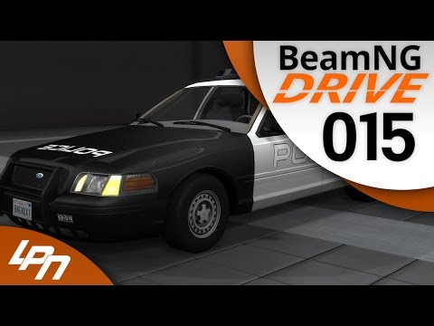 BEAMNG.DRIVE Part 15 - Ford Crown Victoria (FullHD) / Lets Play BeamNG.Drive