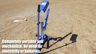 UPM45 - Louisville Slugger Blue Flame Ultimate Pitching Machine