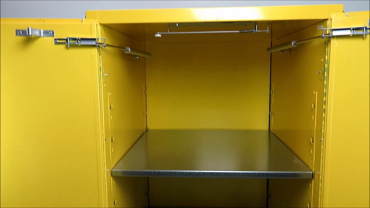 Eagle Flammable Storage Cabinet 60 Gallon - YouTube