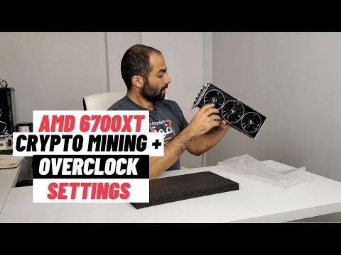 6700XT Crypto Mining In HIVE OS + Overclock Settings