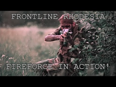 Frontline Rhodesia by Nick Downie (Fireforce in Action)