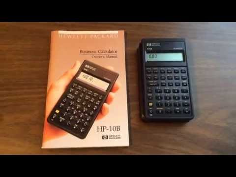 Hp 10b Business Calculator You