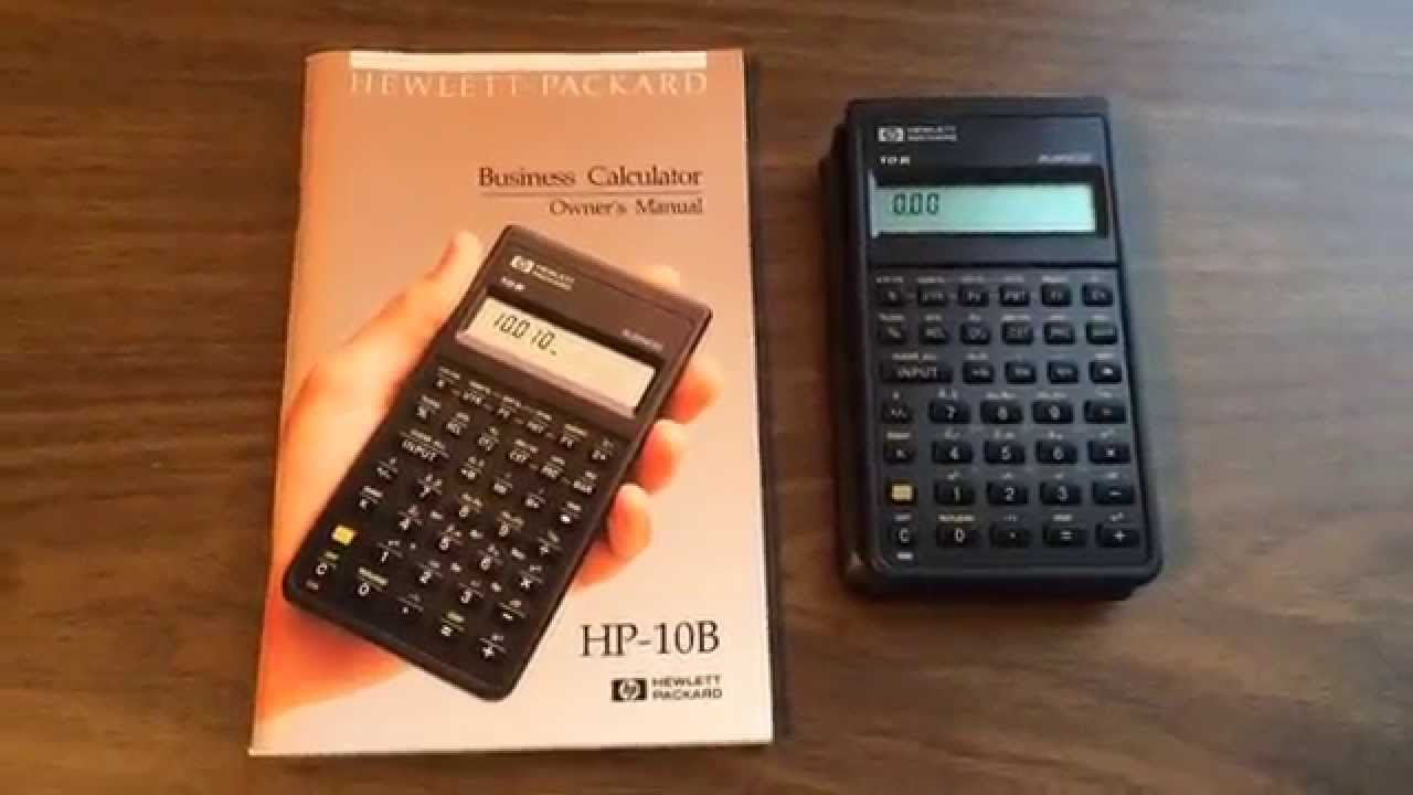 hp 10b business calculator youtube rh youtube com HP 10B Review hp 10bii financial calculator user guide
