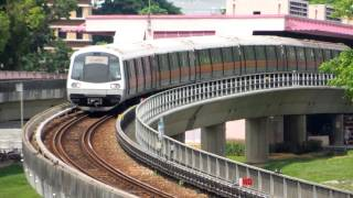 SMRT Singapore Subway East West Line Redhill Station