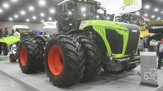 CLAAS Exhibit at the 2015 National Farm Machinery Show