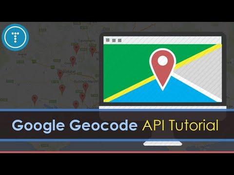 Google Geocode API & JavaScript Tutorial