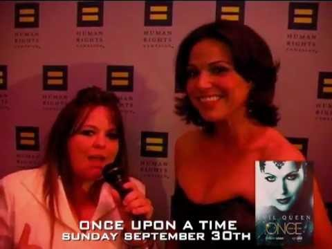 2012 CLEVELAND HRC GALA DINNER - EXCLUSIVE INTERVIEW WITH LANA PARRILLA