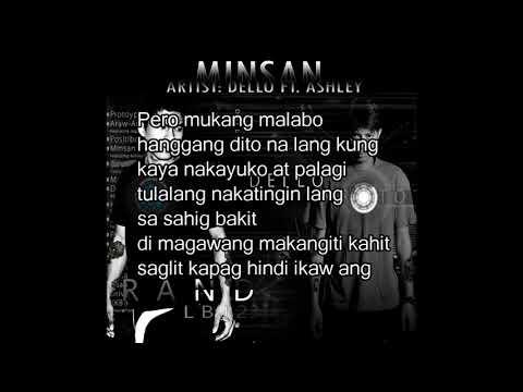 Minsan - Dello ft. Ashley Gosiengfiao (Lyrics)
