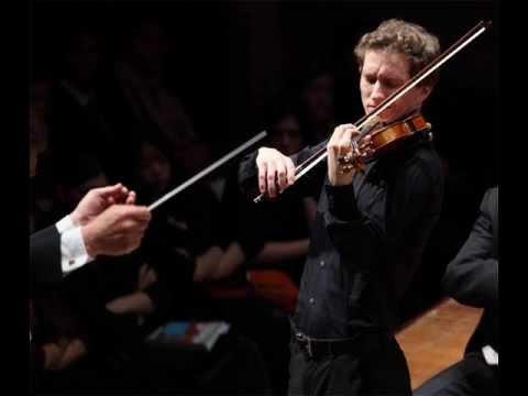 Josef Špaček Sibelius Violin Concerto (Mvt 1)