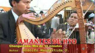 AMANTES DE HUANCAYO Mix Chonguinadas de 15 Minutos