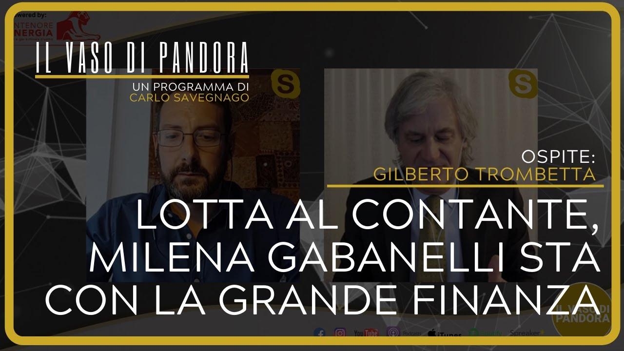 Lotta al contante, Milena Gabanelli sta con la grande finanza - Gilberto Trombetta