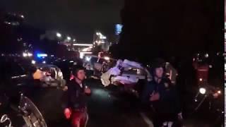 Accidente En Santa Fe Provocado Por Trailer. 7/11/ 2018 Nueve Muertos Y 16 Heridos Graves Parte 2