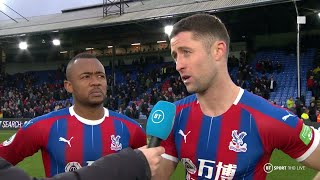 Ayew welcomes Tosun competition after scoring in Palace's draw with Arsenal