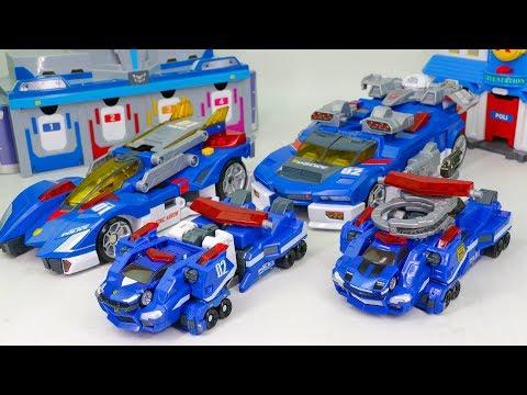 Tomica Hyper Blue Police Hyper Rescue Drive Head Hyper Sinic interceptor Robot Car Toys