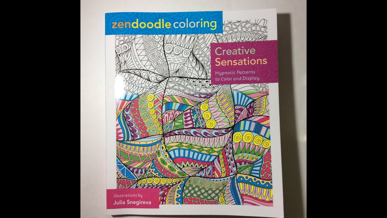 Another Adult Colouring Book Share Zendoodle Coloring Creative