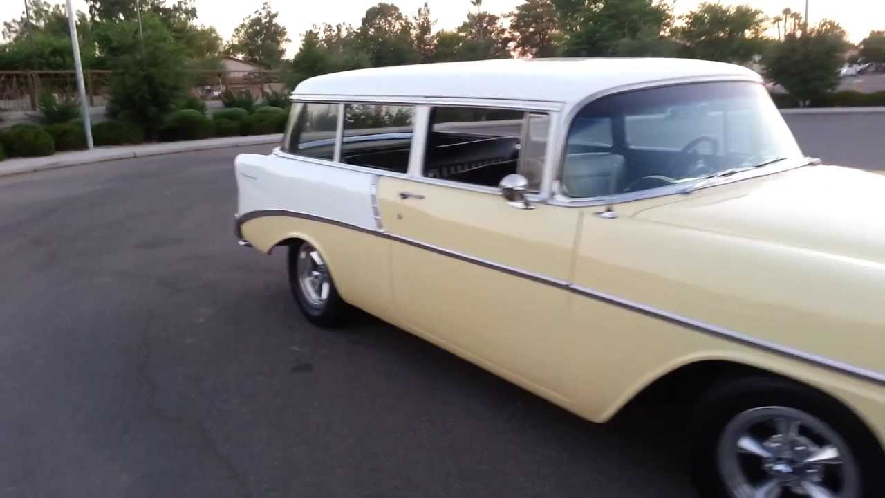 1955 chevrolet handyman 2 door wagon street rod - 1955 Chevrolet Handyman 2 Door Wagon Street Rod 12