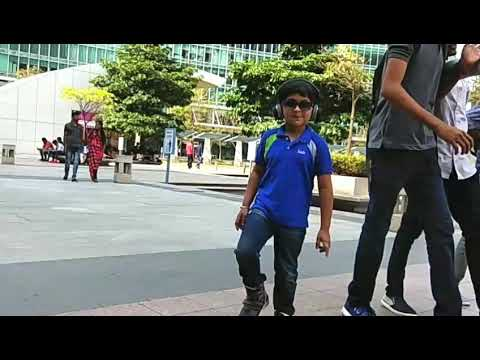 Noughty boy at World Trade Centre Bangalore