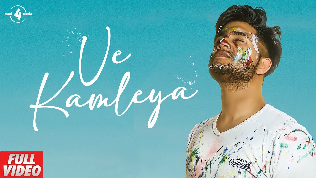 VE KAMLEYA (Lyrical video) | Rox-A | Mad4music | Latest Punjabi Song 2020