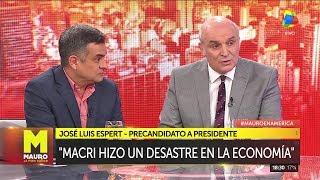 José Luis Espert y Luis Rosales en Mauro la pura verdad con Viale por América el 23 de junio de 2019