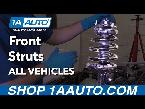 How to Install Replace Front Struts on Any Vehicle!