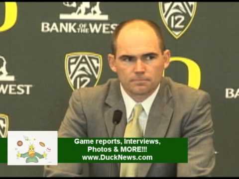 Oregon Ducks Introduce New Football Coach Mark Helfrich