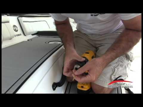 Yamaha FSH JetBoatPilot Swim Platform Sun Pad Install Video