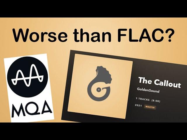 Как вам срыв покровов с MQA?