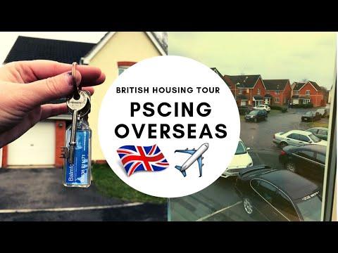 EMPTY HOUSE TOUR // RAF LAKENHEATH HOUSING // ENGLAND