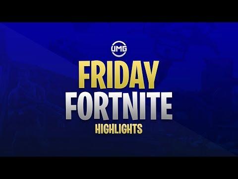 Friday Fortnite $10,000 Tournament Highlights!