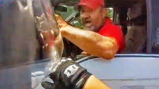 """I'LL RUN YOU OVER!"" STUPID, CRAZY & ANGRY PEOPLE VS BIKERS 
