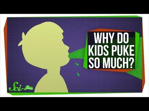 Why Do Kids Puke So Much?