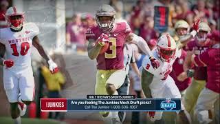 Junkies 2018 NFL Mock Draft