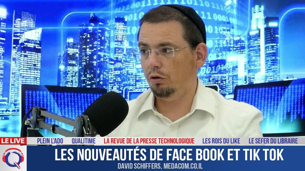 Les nouveautés de Face Book et Tik Tok - La Revue De La Presse Technologique#5